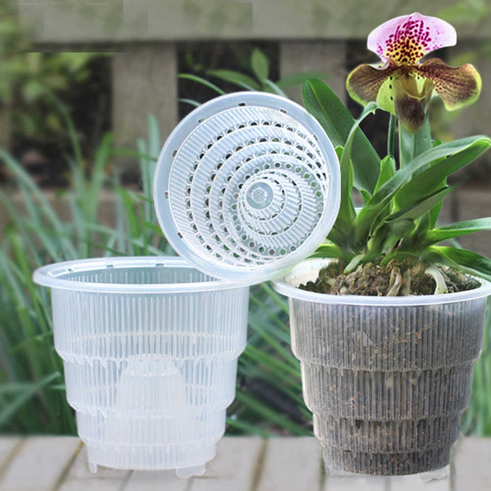Горшки для посадки орхидей
